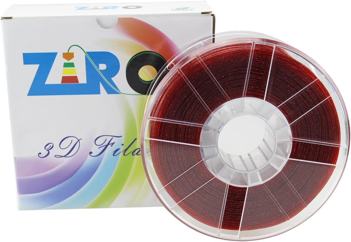 Filamento de impresora 3D ZIRO® PLA 1,75 mm Serie Twinkling Color ...