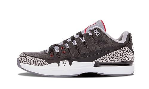 promo code a388d f4633 Amazon.com | Nike Mens Zoom Vapor AJ3 Leather Basketball ...