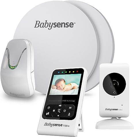 Babysense Baby monitor de respiración y movimiento con vigilabebés