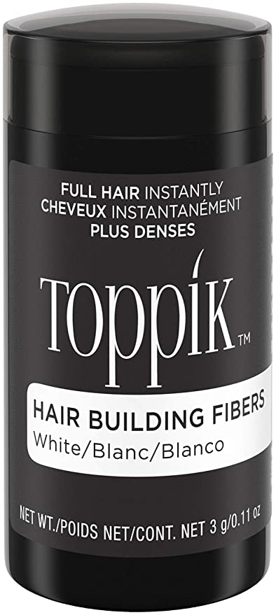Toppik Fibras Capilares - Tamaño Mini 3g - Color Blanco: Amazon.es: Belleza