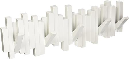 Oferta amazon: Umbra 318211-660 Perchero decorativo de pared Sticks, Blanco