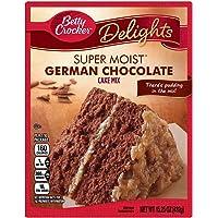 Betty Crocker Super Moist German Chocolate Cake Mix, 432 gramos
