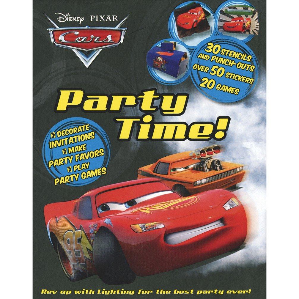 Download Disney Pixar Cars: Party Time! Spiral-bound Party Planner – February 1, 2011 (Disney Party Planner) pdf epub