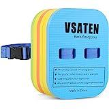 VSATEN Back Float, Swim Belt Bubble Adjustable 3 Layers Thicken Split Foam Learning Safety Training Board Pool Floaties for K