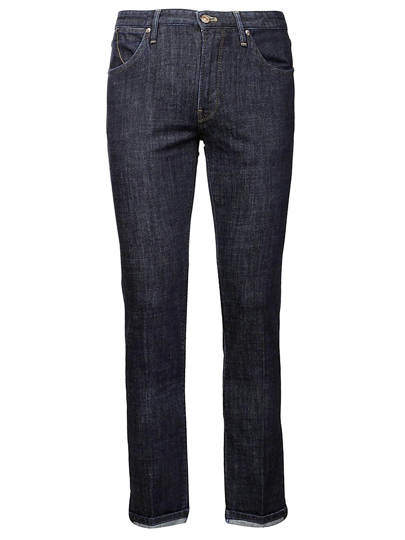 Brand Size 38 PT05 Men's C6DJ25Z10MINSC57 Light blueee Cotton Pants