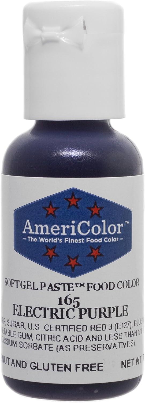 Americolor Gel Paste Food Color, Electric Purple