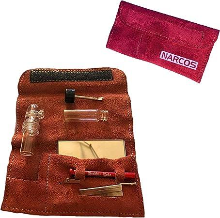 M&M Smartek - Juego de 7 Accesorios para Chupete de Tabaco Narco, Estuche con Espejo, 2 dosificadores, Varillas, Tubos de tracción para Tabaco de resfriado: Amazon.es: Hogar