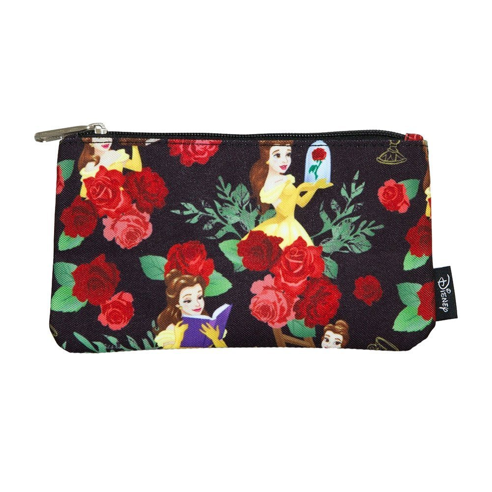 Beauty and the Beast Belle Roses AOP Pencil Case by Loungefly