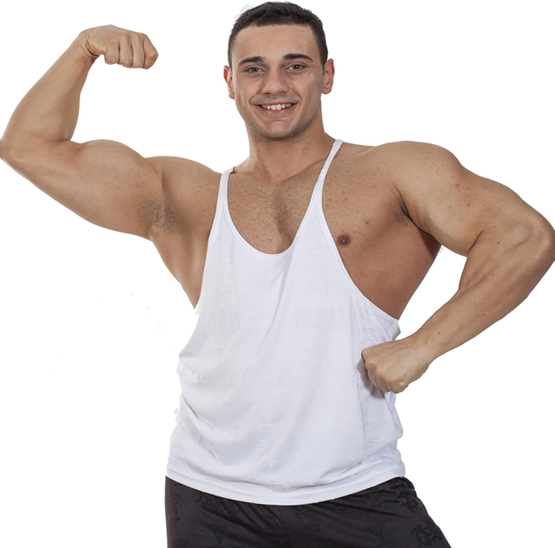 omniscient Mens Bodybuilding Sport Tank Top Vest Sleeveless Muscle T-Shirt