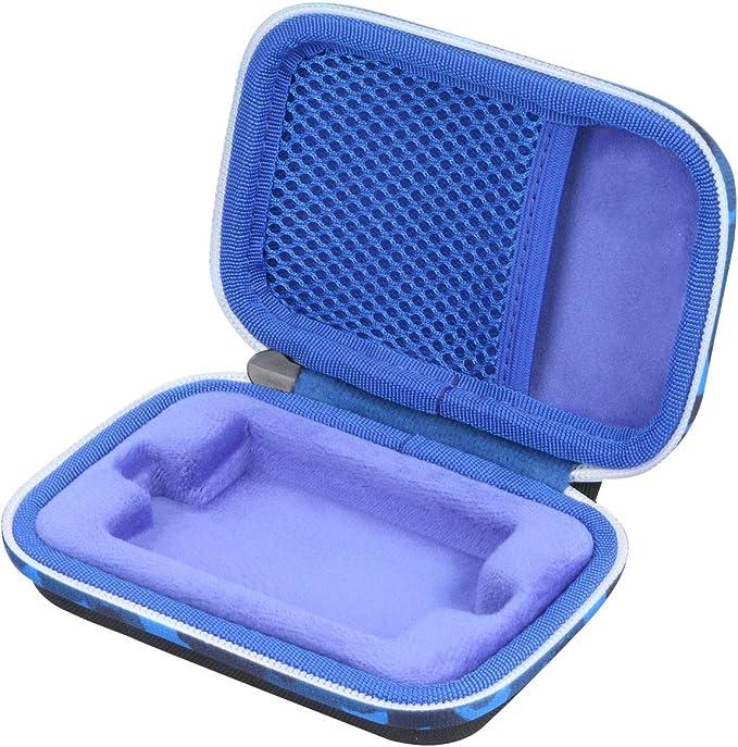 co2CREA Duro Viajar Caso Cubrir Estuche para Seagate One Touch SSD Unidad Estado sólido Externa 1TB/500GB (Fundas para One Touch SSD, Cremallera Camuflaje Azul): Amazon.es: Electrónica