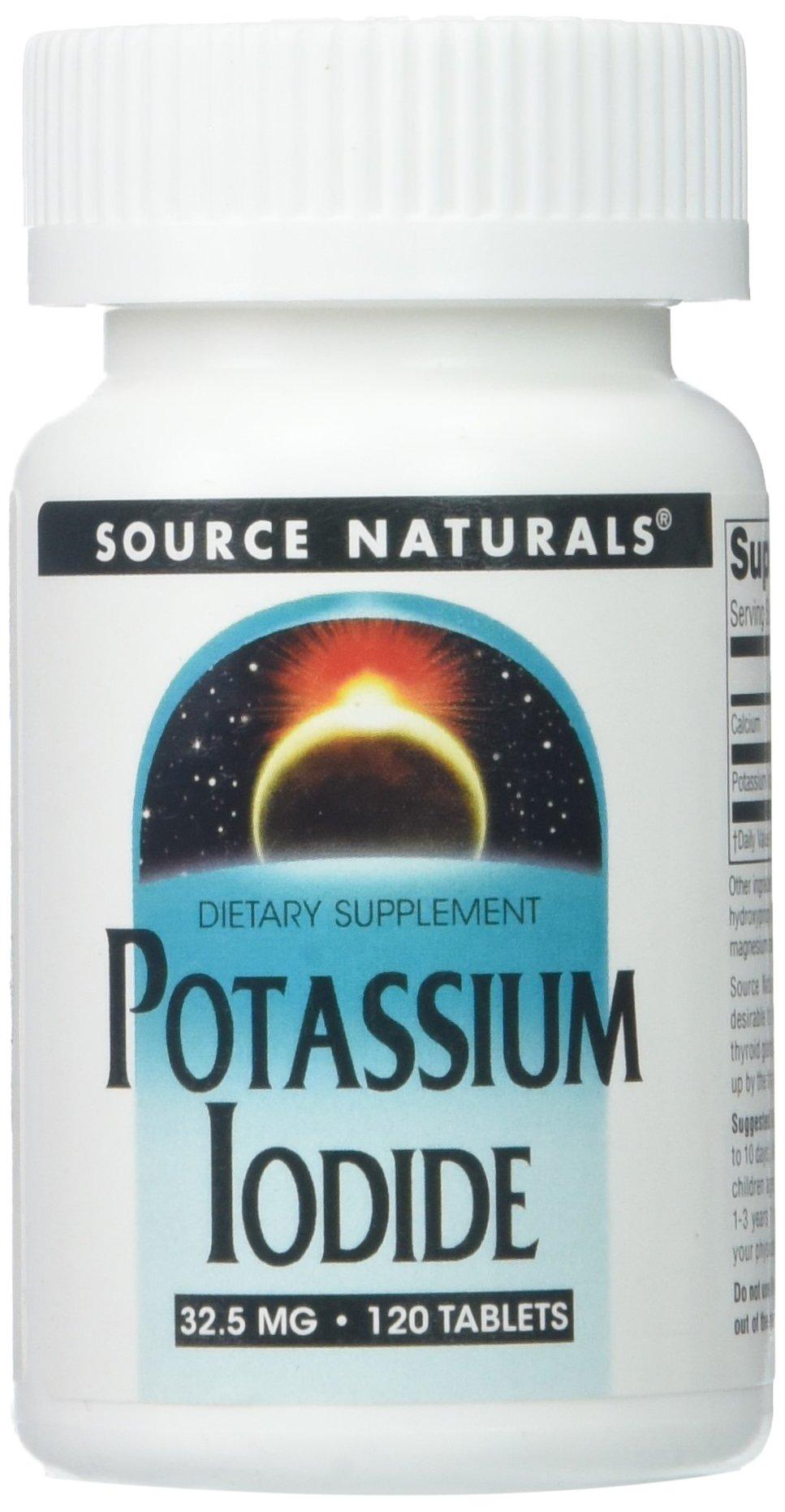 Source Naturals: Potassium Iodide, 120 tabs