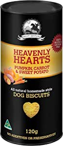 Pumpkin, Carrot and Sweet Potato - 120g - Dog Biscuit Treats - Heavenly Heart