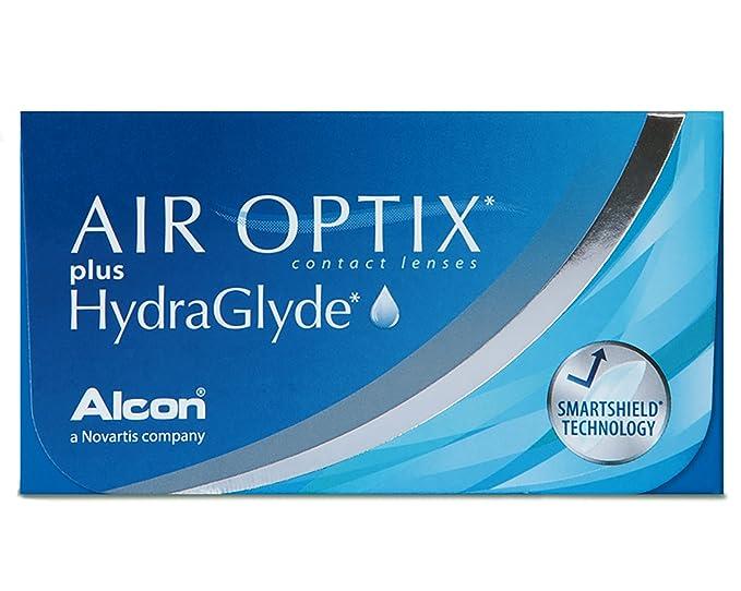 AirOptix Plus Hydraglyde 10109026 Lentes de Contacto, R 8.6, D 14.2, Dioptría +