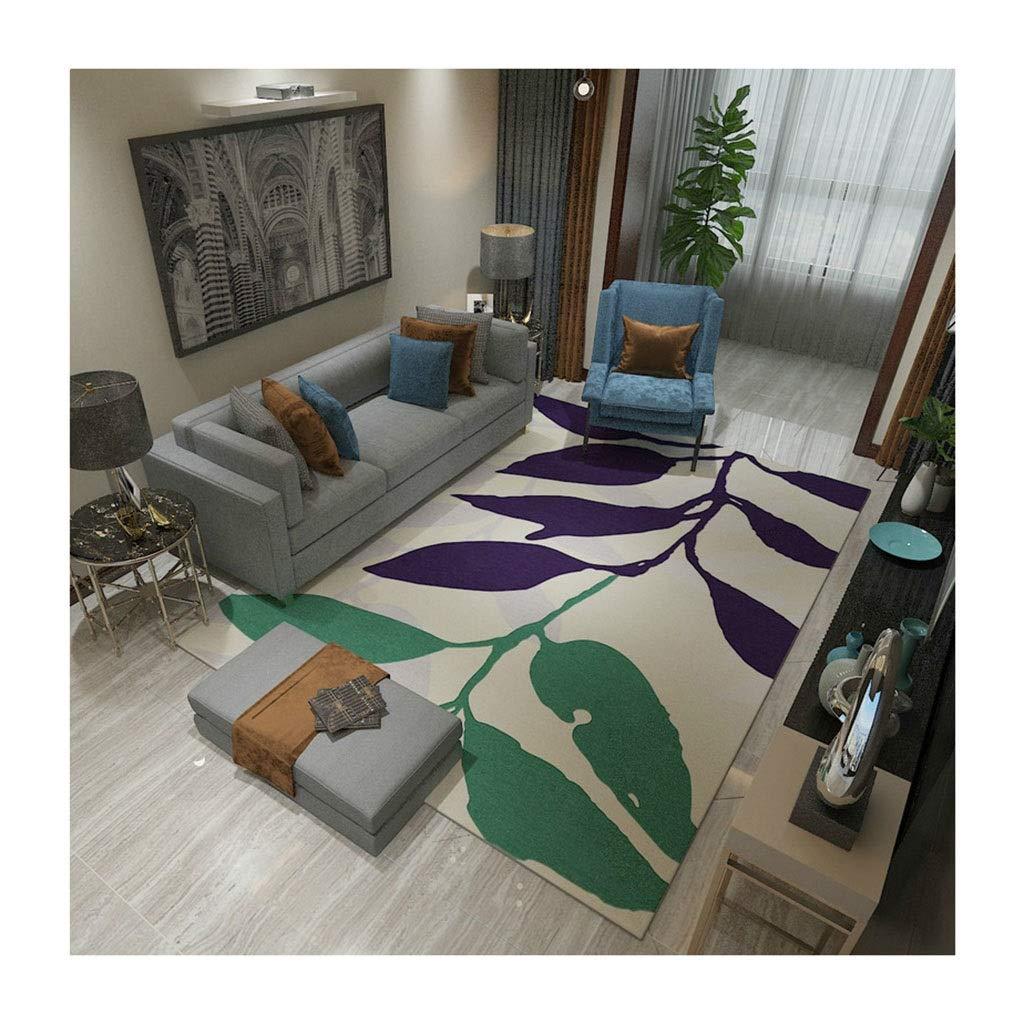 Unbekannt Wohnzimmer Teppich Rutschfester Teppich Nordic Wohnzimmer Sofa Couchtisch Mat Schlafzimmer Bettdecke Decke Rechteck Teppich Decken (Farbe : D, größe : 120cm*160cm)