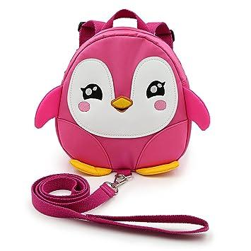 Hipiwe Baby Toddler Walking Safety Backpack Little Kid Boys Girls Anti-lost  Travel Bag Harness df5550954ad49