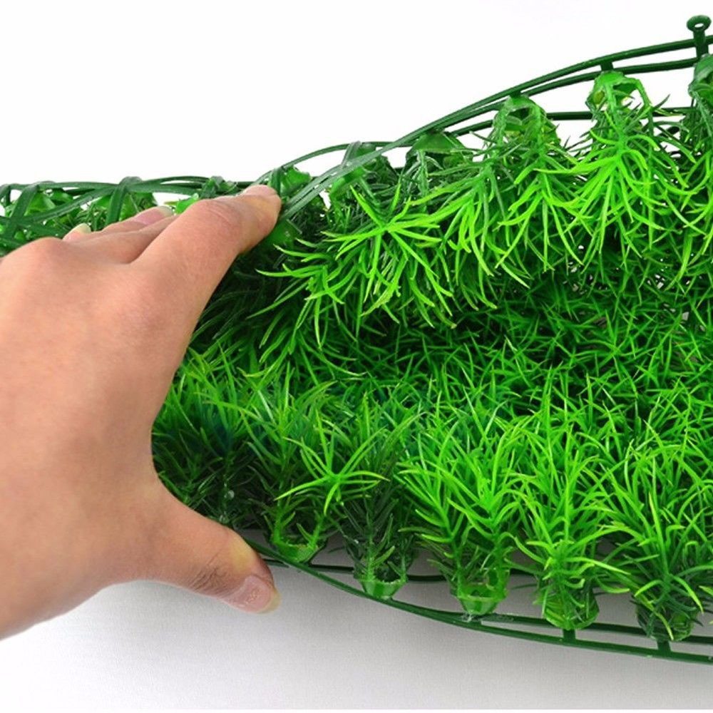 Sanwood Artificial Water Green Grass Plant Lawn Aquarium Fish Tank