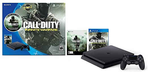 Amazon Com Sony Computer Entertainment Ps4 Call Of Duty Infinite Warfare Hardware Bundle Playstation 4 Video Games