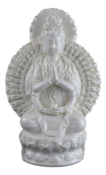 China Dehua Guanyin Quan Yin Kwan-yin Statue in Dehua