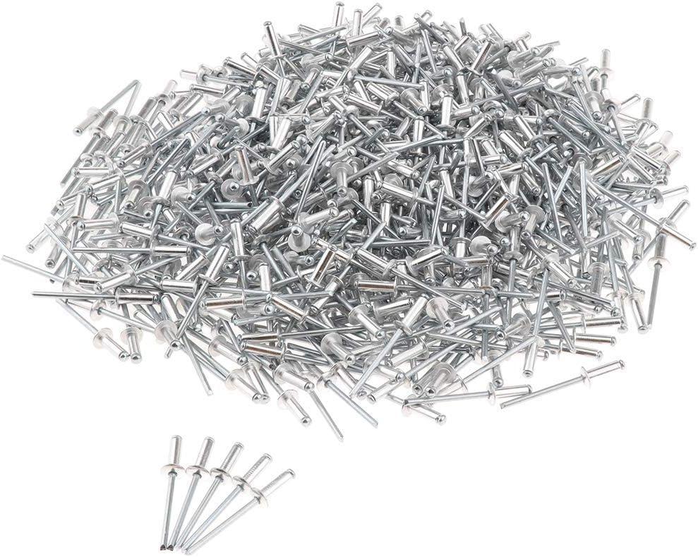4.0x10mm Tubayia 1000 St/ück Edelstahl Blindniete 4 x 6//7//8//9//10//12mm Pop Nieten Blindnieten Set