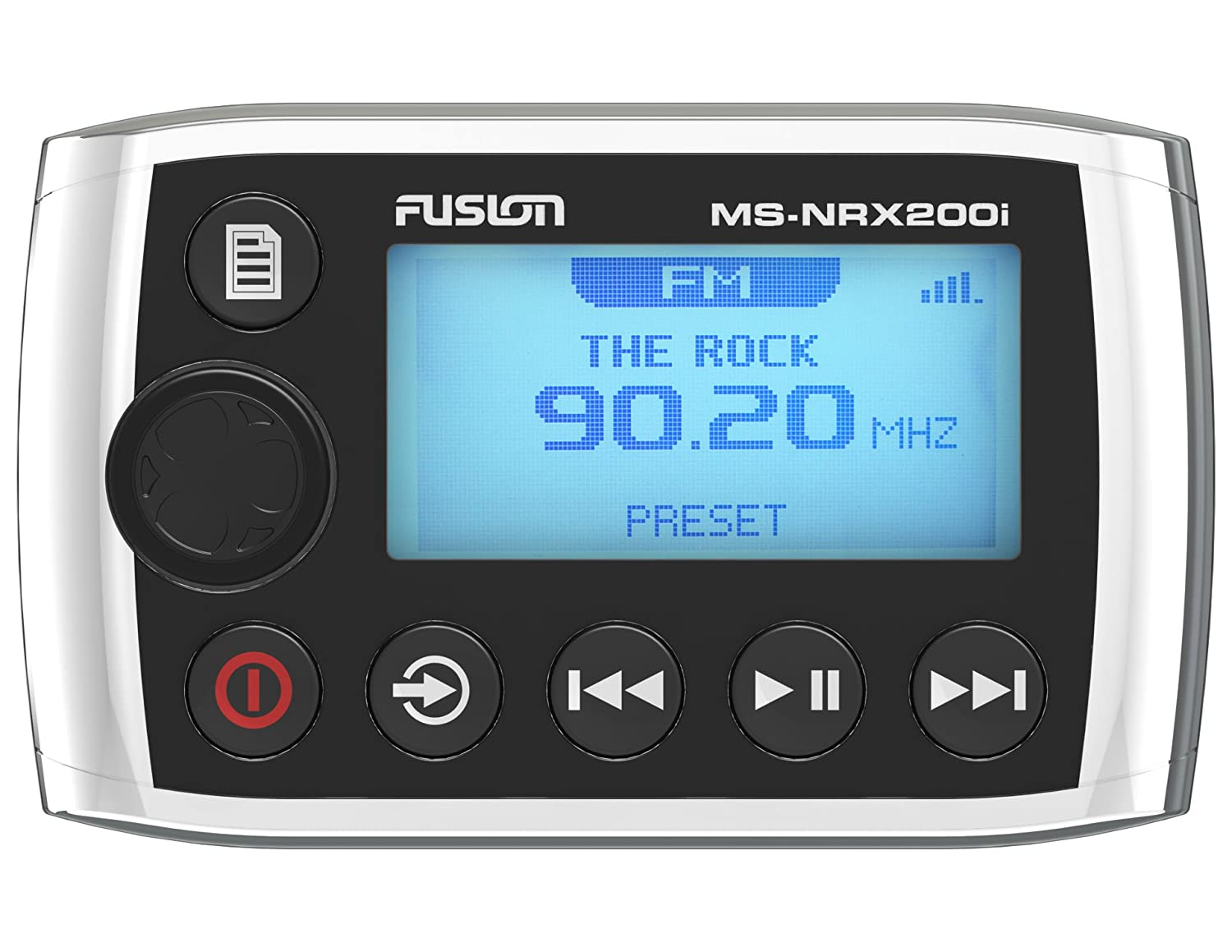 Amazon.com: Fusion MS-NRX200i Marine Wired Remote for MS-IP700i, MS ...