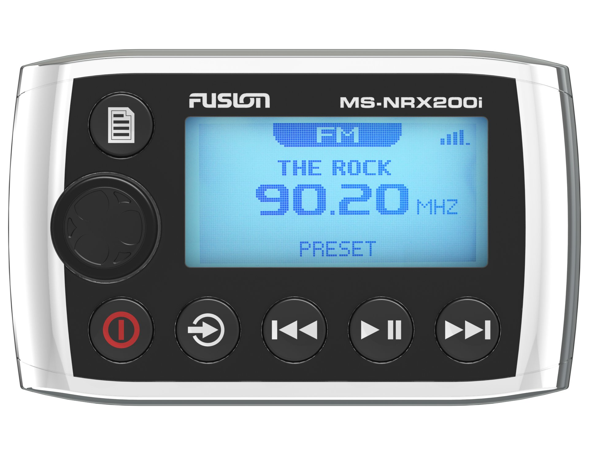 Fusion MS-NRX200i Marine Wired Remote for MS-IP700i, MS-AV700i and MS-RA205 by Fusion