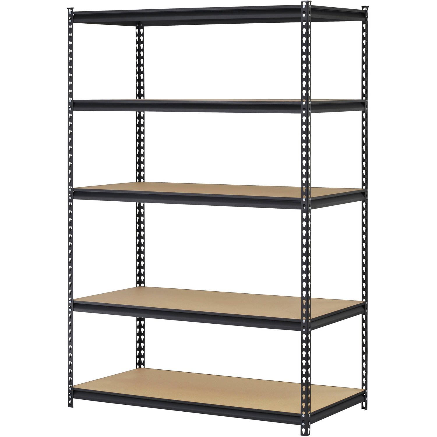 steel racks shelves duty shelving gauge shop industrial rack product quantum storage tools heavy