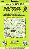 Nordöstliche Fränkische Schweiz: Ahorntal, Aufsess, Eckersdorf, Gesees, Glashütten, Hollfeld, Hummeltal, Mistelbach, Mistelgau, Plankenfels, Waischenfeld (Fritsch Wanderkarten 1:35000)