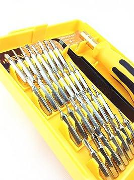 El Joven 32 en 1 Precisión Torx destornillador herramientas de ...