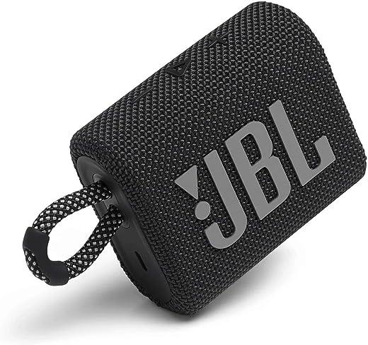 JBL GO3 by Harman Ultra Portable IP67 Water & Dustproof Bluetooth Speaker (Without Mic, Black)