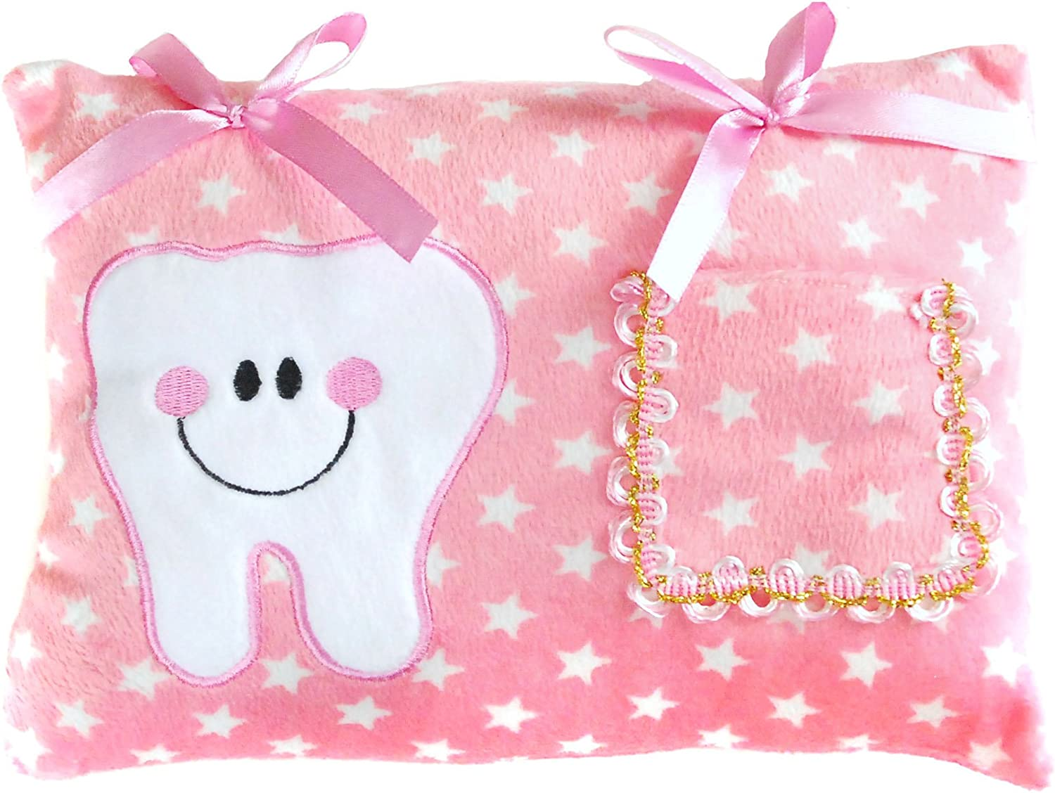 Pink Tooth Pillow