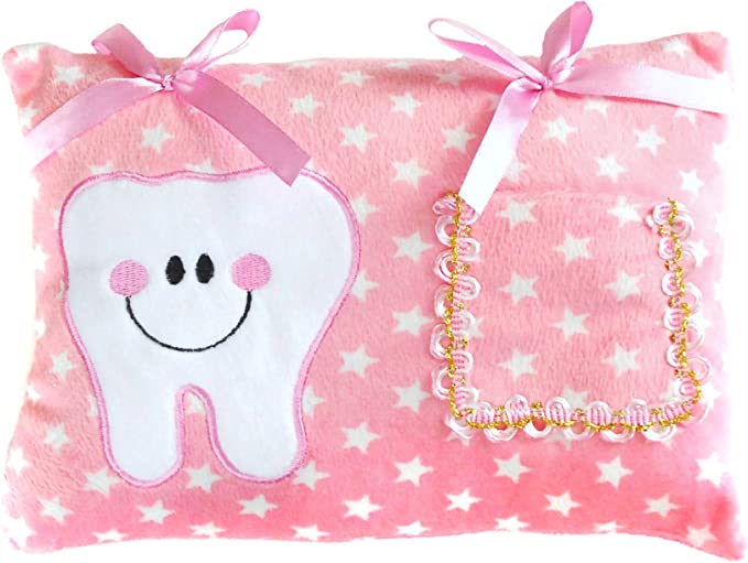 Gift Bags First Tooth Pink Set Fairy Dust Personalised Tooth Fairy Letter