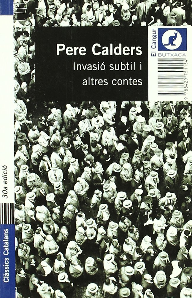 Invasió subtil i altres contes (Butxaca): Amazon.es: Calders, Pere: Libros
