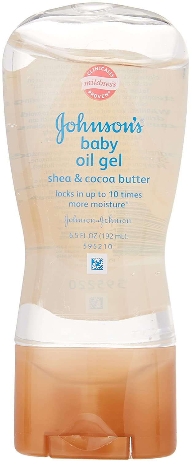 Johnson & Johnson Baby Oil Gel, 6.5 Ounce