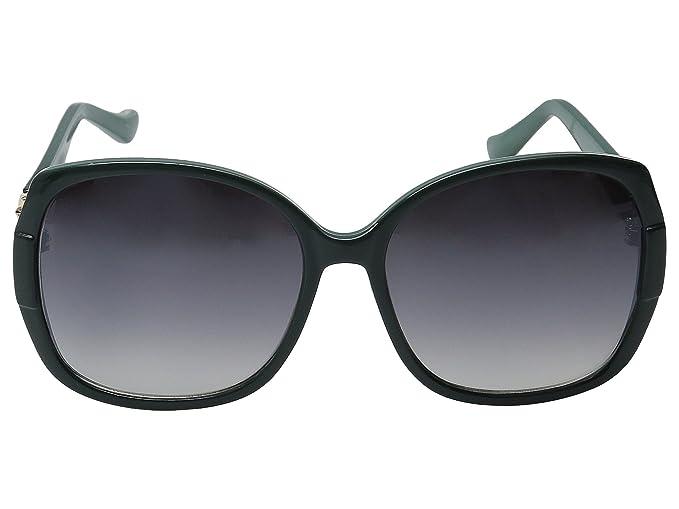 Amazon.com: Ivanka Trump 036 Moda anteojos de sol, Verde, L ...
