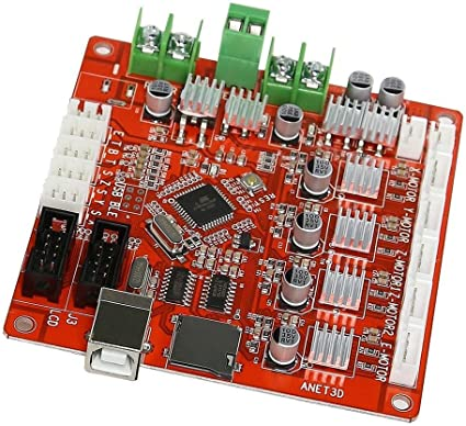 SODIAL (R) A8 3d impresora placa base para Anet V1.0 Reprap Mendel ...