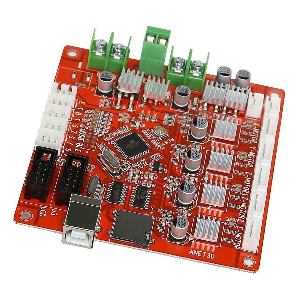 SODIAL(R) A8 3D Printer Mainboard For Anet V1.0 Reprap Mendel Prusa Control Motherboard 115153