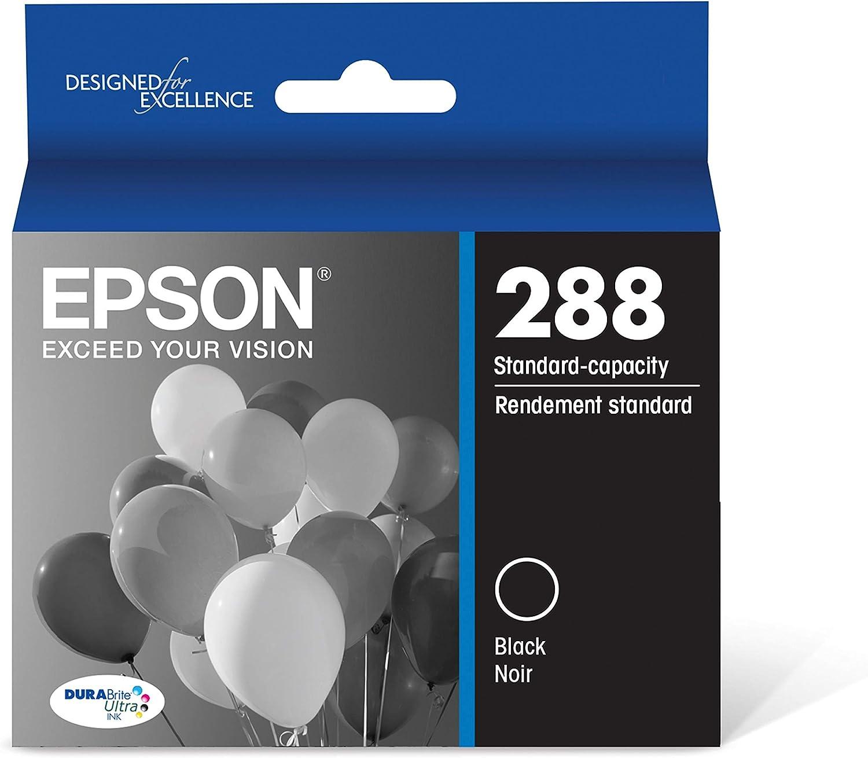 Epson T288120-SDURABrite Ultra Black Standard Capacity Cartridge Ink 2 Pack