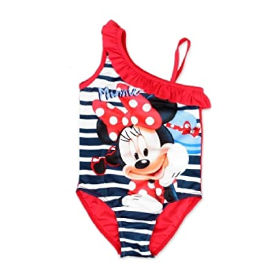 DISNEY, MINNIE MOUSE - Maillot une pièce - Fille Rouge Red