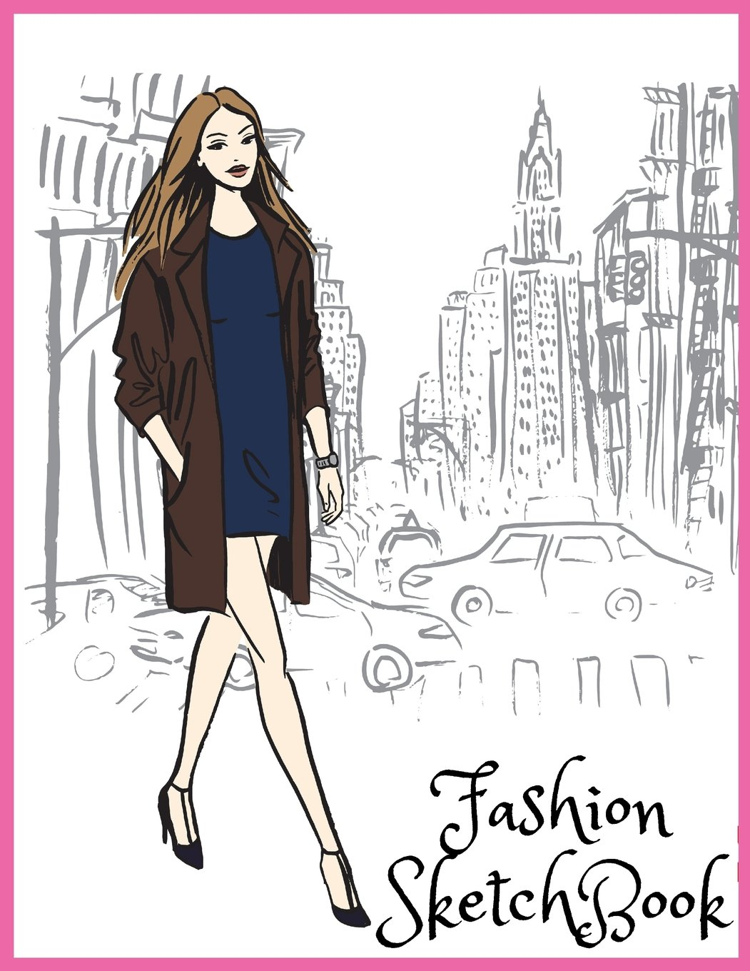 Fashion Sketchbook 310 Figure Templates With 3 Different Pose Fashion Design Volume 4 Coloring Carolyn 9781722676841 Amazon Com Books