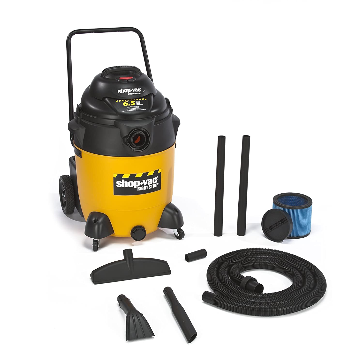 Amazon.com: Shop-Vac 9626010 6.5-Peak Horsepower Right Stuff Wet/Dry Vacuum,  24-Gallon: Home Improvement