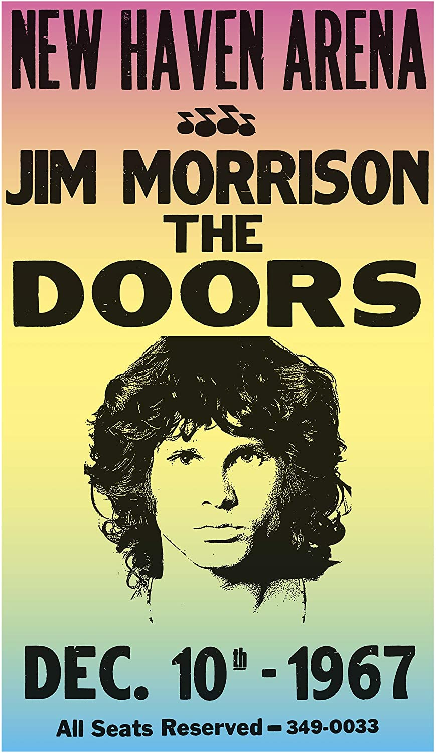 Poster Wall Decoration Poster Graphic Music the Doors Jim Morrison Front Man USA