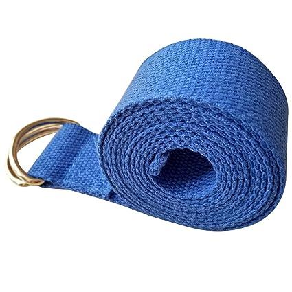 WINOMO Yoga Correa Cinturón para Yoga Banda con Cierre d de ...