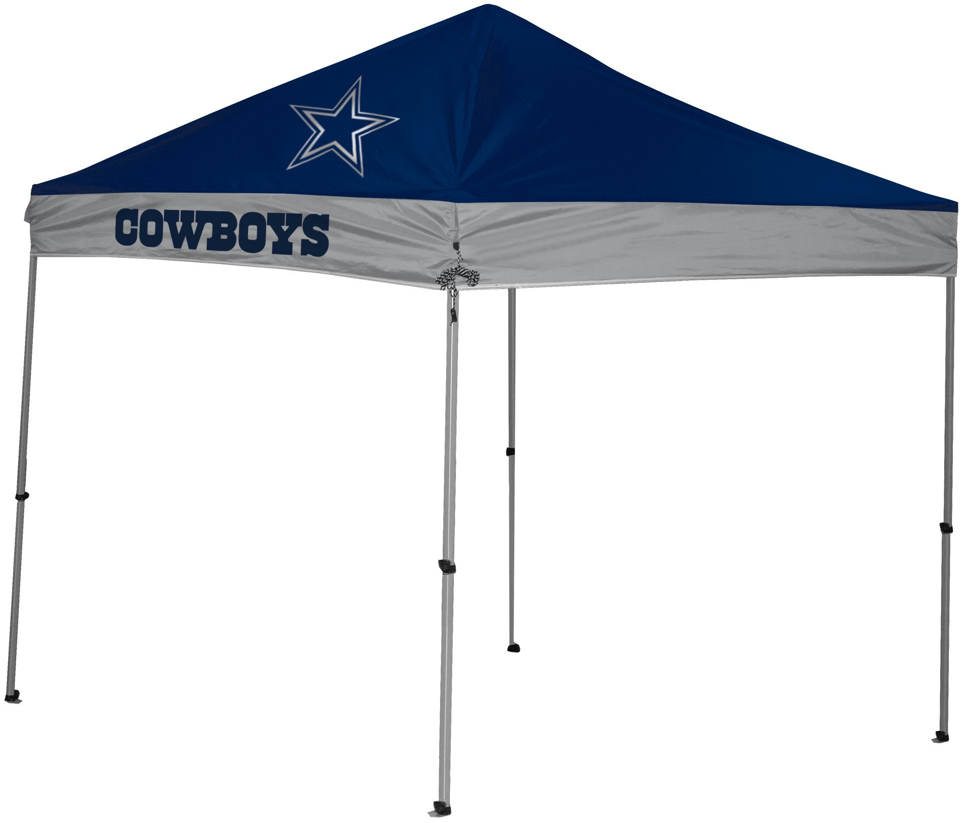 Rawlings NFL Instant Pop-Up Canopy Tent with Carrying Case, 9x9