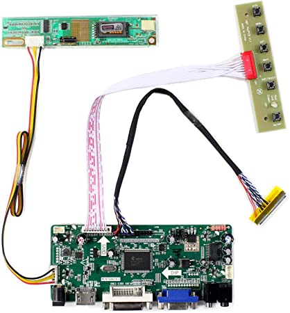 "B156XTT01.1 VGA Controller Board 15.6/"" LCD EDP Monitor DIY 40Pin Good Tested"