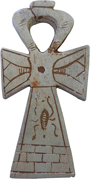 "Ankh 6.3/"" Brass Wall Hanging Engraved key Life Egypt Pharaoh Hieroglyphic 213"