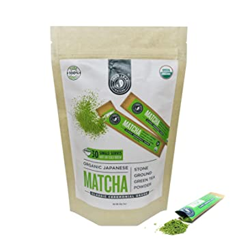 Jade Leaf Matcha Single Serve Stick Pack Matcha Tea