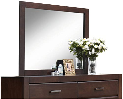 ACME Furniture 25794 Oberreit Mirror, Walnut