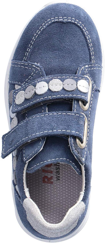 RICOSTA - Scarpe Basse da Bambina con Chiusura in Velcro Blu