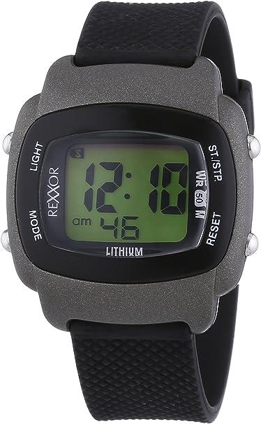 Rexxor 239-6067-44 - Reloj de Cuarzo para Hombres, Color Negro