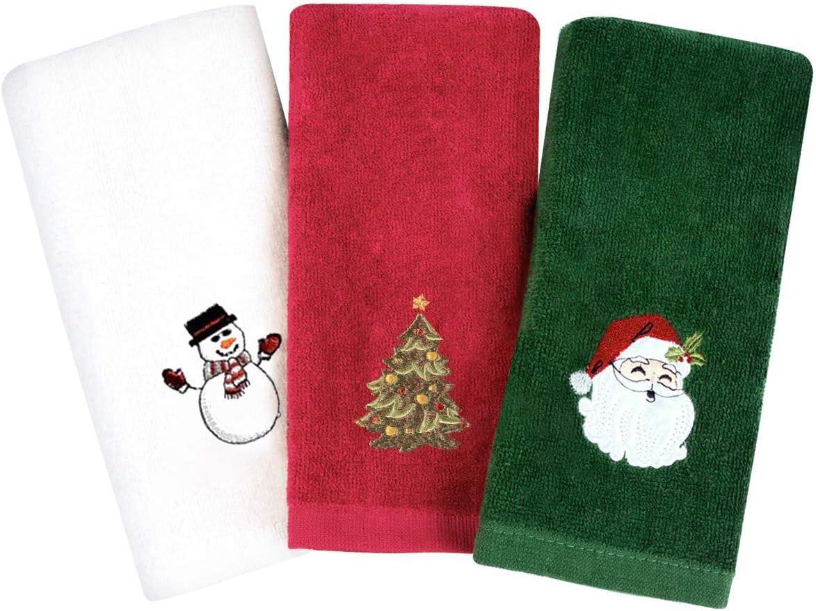 christmas hand towels on sale
